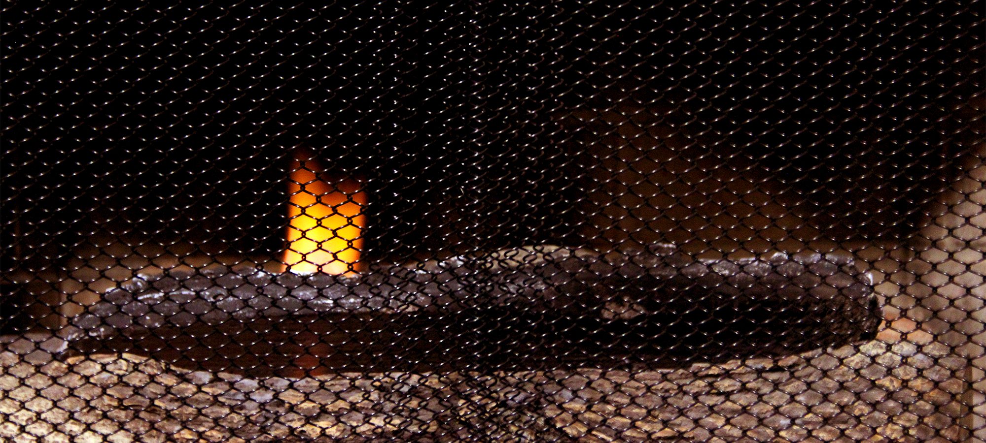 Enhance the Style of Your Fireplace with a Condar Mesh Screen each 24 Wide. 31 High Includes 2 Panels Fireplace Mesh Screen Curtain